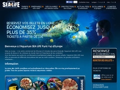 Coupon promo de 5€ sur Tickets Visit Sealife Paris