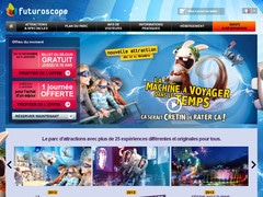 10% de réduction sur futuroscope.com