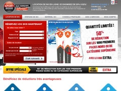 Location Code Ski Sport et Réduction 2000Promotions 1clFKJ