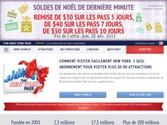 Coupon de 15% sur tout The New York Pass