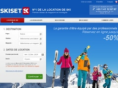 Bon réduction 5% sur location Ski Set