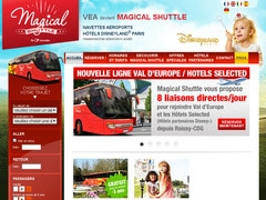 Coupon promo de 20% chez magicalshuttle.fr