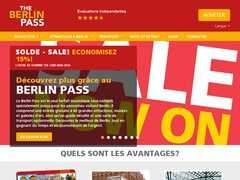 Coupon de 5% sur le site berlinpass.fr