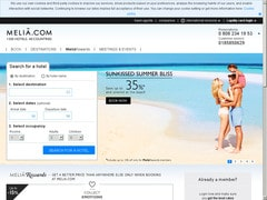 Deal : Jusqu'à -40% sur Early Booking Melia International
