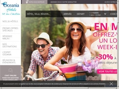 Coupon promotion de 10% + Bonus sur oceaniahotels.com