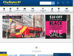 Coupon 10% sur  Pass Bus CitySights New York