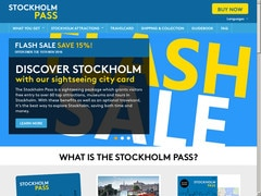 Coupon 10% (1 à 2 Days) & -15% sur (3 et 5 Days) stockholmpass.com