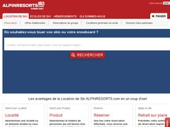Bon réduction 10% sur vos Locations Ski alpinresorts.com