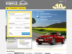 Coupon de 8% chez location-voiture-simple.fr