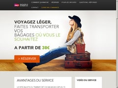 Coupon de 15% à partir de 3 bagages
