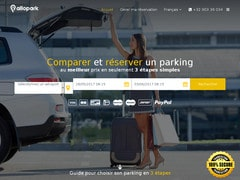 5% de réduction sur les parkings (Allopark.com)