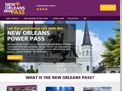 6% de rabais sur Passes en ligne (New Orleans 2, 3 and 5 day passes)