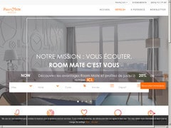 Coupon de 15% sur room-matehotels.com