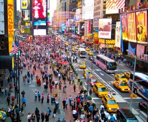 quartier Times Square Manhattan