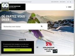 Coupon réduction de 10% sur  gosportmontagne.com