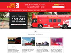 Vente Flash : -52% sur The Sightseeing FlexPass DC