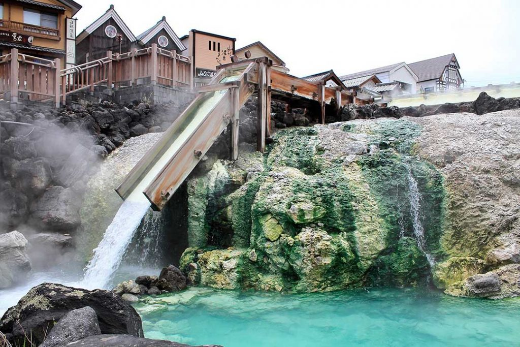 Les sources thermales Onsen